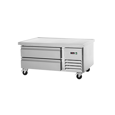 "superior-equipment-supply - Arctic Air - Arctic Air Refrigerated Chef Base, 50""W, (2) Drawers, Stainless Steel Front, Sides and Top"