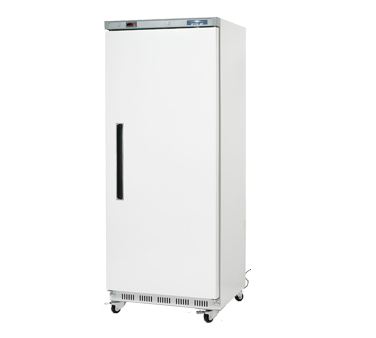 Arctic Air Reach in Freezer One-Section, 25.0 Cubic Feet Capacity, White Painted Steel Front & Sides