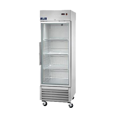superior-equipment-supply - Arctic Air - Arctic Air Reach in Refrigerator, One-Section, 23.0 Cubic Feet Capacity, Stainless Steel