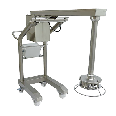 "Sammic Turbo Liquidiser Floor Mixer 24"" Balanced Arm 500 Liter 18/10 Stainless Steel"
