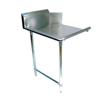 "superior-equipment-supply - BK Resources - BK DISHTABLE STRAIGHT DESIGN, 26""W x 30-7/8""D x 46-1/4""H STAINLESS STEEL TOP"