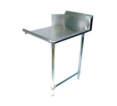 "superior-equipment-supply - BK Resources - BK Resource Dishtable Straight Design 36""W x 30-7/8""D x 46-1/4""H, Stainless Steel"