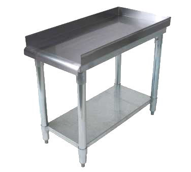 "BK Resources Equipment Stand 16""W x 30""D x 26""H, Stainless Steel"