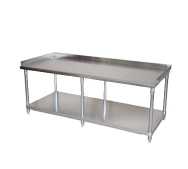 "BK Resources Equipment Stand 73""W x 30""D x 26""H, Stainless Steel"