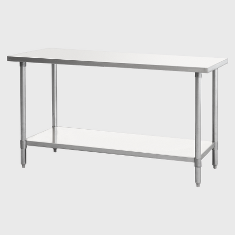 "Atosa Stainless Steel 24""W x 24""D Work Table"