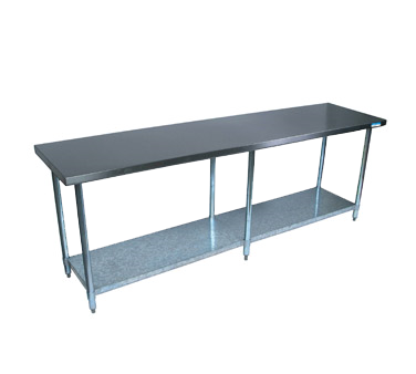 "superior-equipment-supply - BK Resources - BK Resources Work Table 84""W x 30""D, Stainless Steel"