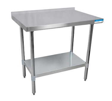 "superior-equipment-supply - BK Resources - BK Resources Stainless Steel Work Table 72""W x 24""D"