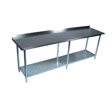 "superior-equipment-supply - BK Resources - BK Resources Stainless Steel Work Table 84""W x 30""D"