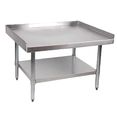 "Royal Industries Stainless Steel 30"" x 36"" Equipment Stand 800lb. Capacity"