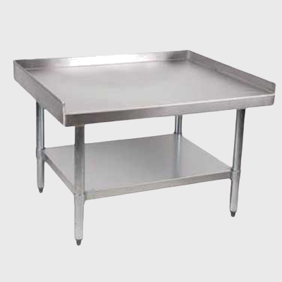 "Royal Industries Stainless Steel 30"" x 60"" Equipment Stand"