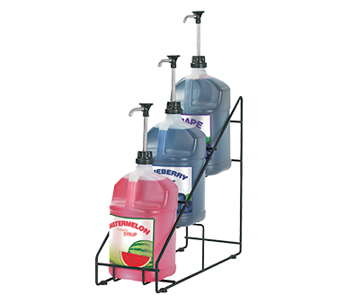 superior-equipment-supply - Server Products - Server Products Wirewise 3 Tiered Organizer For 1 Gallon Jugs (4) Non-Skid Feet