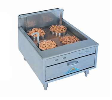 Comstock-Castle Flat Bottom Counter Top Funnelcake-Doughnut Gas Fryer