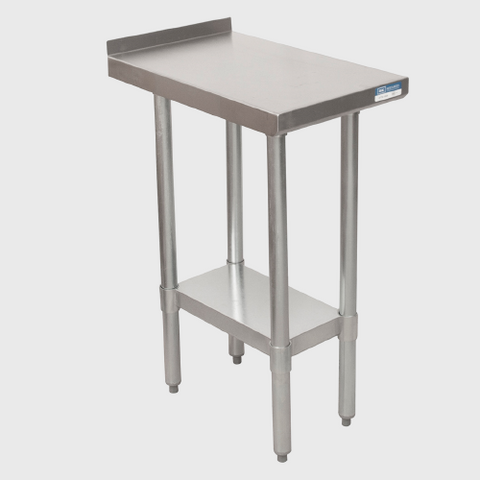 "BK Resources Stainless Steel 18""W x 30""D Filler Table"