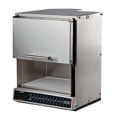 ACP Amana® Commercial Microwave Oven .319 cu. ft. Heavy Volume 11 Power Levels Stainless Steel