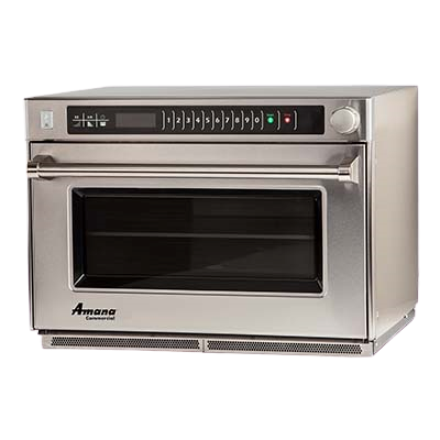 ACP Amana® Microwave Steamer Oven Countertop 1.6 cu. ft. 11 Power Levels Stainless Steel