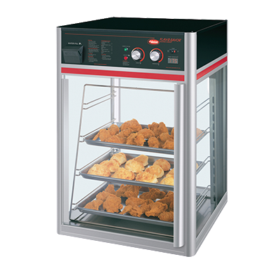 Hatco Flav-R-Savor® 1 Door 4 Tier Holding & Display Cabinet No Motor Anodized Aluminum