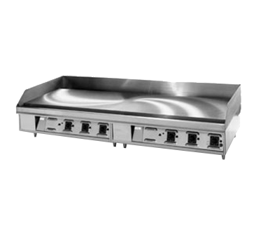 "Montague Stainless Steel 36"" Wide Electric Countertop Griddle 1"" Thick Plate with 23"" Deep Cooking Surface"