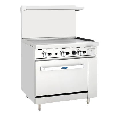 "superior-equipment-supply - Atosa Catering Equipment - Atosa 36"" Wide Gas Range Full Top Griddle"
