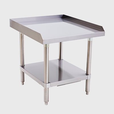 "Atosa Stainless Steel 24""W Under Shelf Equipment Stand"