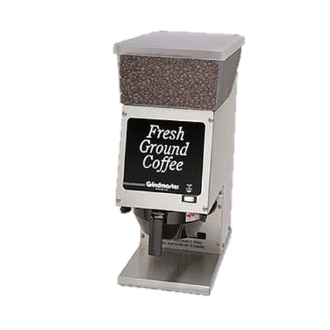 Grindmaster Cecilware Coffee Grinder Single Portion 6 lb Hopper Push Button Start