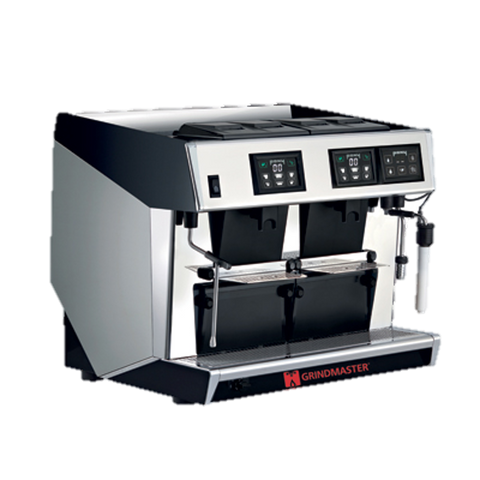 Grindmaster Cecilware Espresso Cappuccino Machine Super Automatic 2-Step 2 Groups