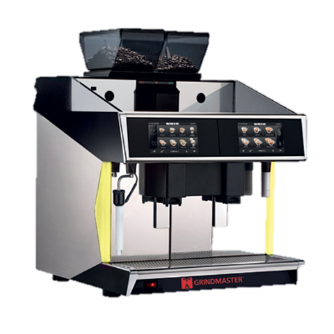Grindmaster Cecilware Espresso Cappuccino Machine Super Automatic 2 Group Dual Brewers