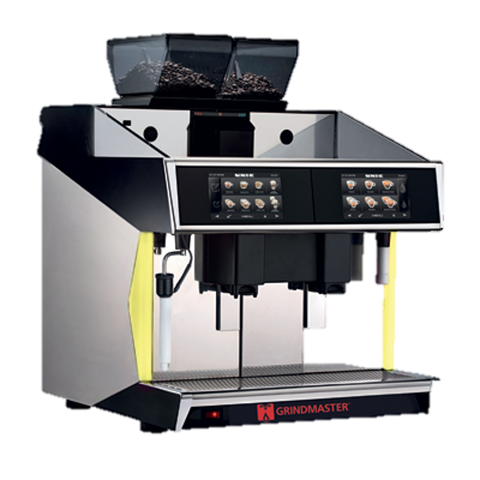 Grindmaster Cecilware Espresso Cappuccino Machine Super Automatic Two 1.72 Gallon Boilers