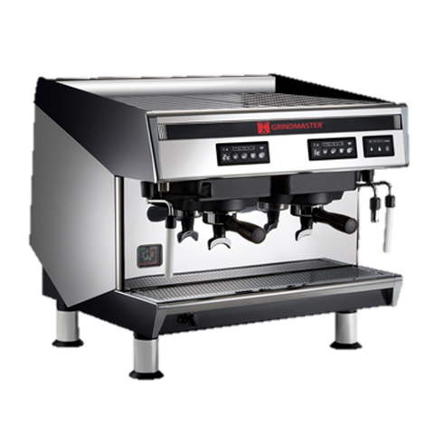 Grindmaster Cecilware Espresso Cappuccino Machine Semi-Automatic 2 Group 2.6 Gallon Boiler