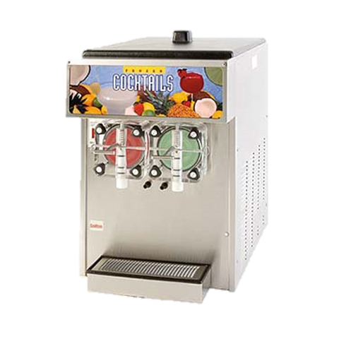 Grindmaster Cecilware Frozen Drink Machine Non-Carbonated Double Flavor Two 3.75 Gallon Capacity Cylinders