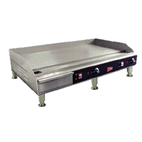 "Grindmaster Cecilware Electric Griddle Countertop 36"" Wide Stainless Steel"