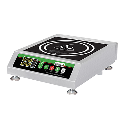 Commercial Induction Cooker Electric Ceramic Glass Surface & Stainless Steel