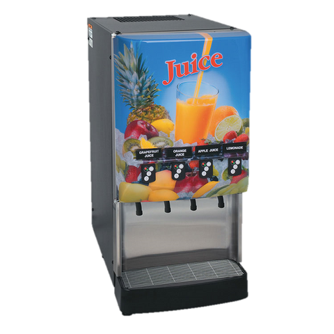BUNN Electric Juice Dispenser 4-Flavor LED Portion Control