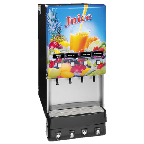BUNN Electric Juice Dispenser Black 4-Flavor LED