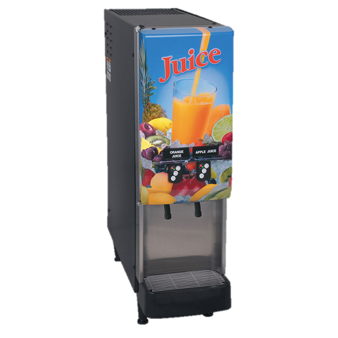 BUNN Electric Juice Dispenser 2-Flavor Push Button LED