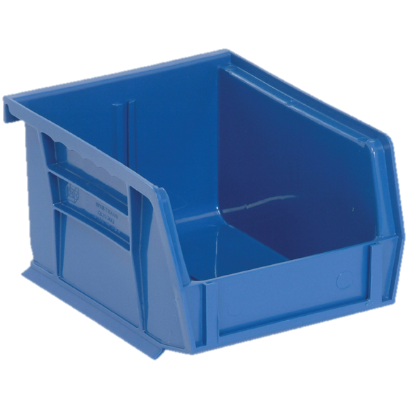 "Quantum FoodService Shelf Bin 5"" Blue"