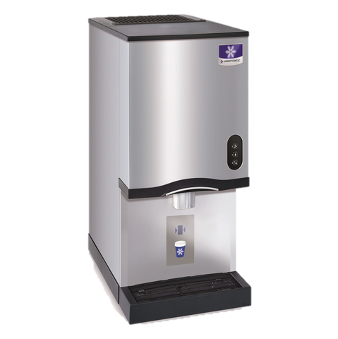 "Manitowoc, Ice Maker & Water Dispenser, Countertop, 16-1/2"" W x 24"" D x 35"" H, Capacity Up To 315 Lb/24 Hours"
