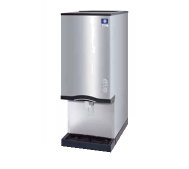 "Manitowoc 16-1/4"" Wide Nugget-Style Ice Maker & Water Dispenser 235 lb. Production Capacity"