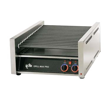 superior-equipment-supply - Star Manufacturimg - Star Stainless Steel Construction Grill Max Hot Dog Grill 20 Hot Dogs Capacity