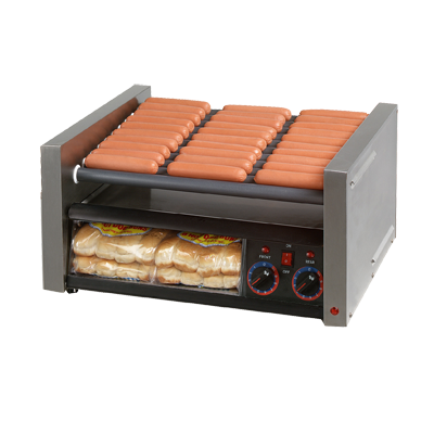 superior-equipment-supply - Star Manufacturimg - Grill-Max® Stainless Steel Hot Dog Grill 30 Hot Dog & 32 Bun Capacity