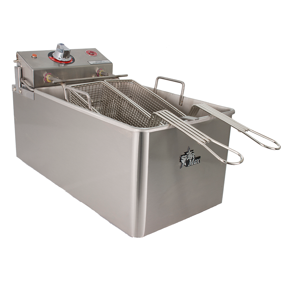 superior-equipment-supply - Star Manufacturimg - Star Stainless Steel 14 lb. Capacity Electric Countertop Fryer