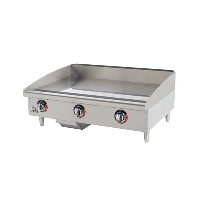 "(QUICK-SHIP) Star-Max® Griddle Electric Countertop 36"" W x 20-3/4"" Stainless Steel"