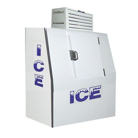 "superior-equipment-supply - Fogel Inc - Fogel White Exterior One Solid Door Bagged Ice Merchandiser 47.75"" Wide"