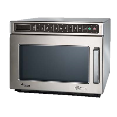 "superior-equipment-supply - Amana Commercial Products - Amana ADA Compliant Stainless Steel 16.5"" Wide Microwave Oven"