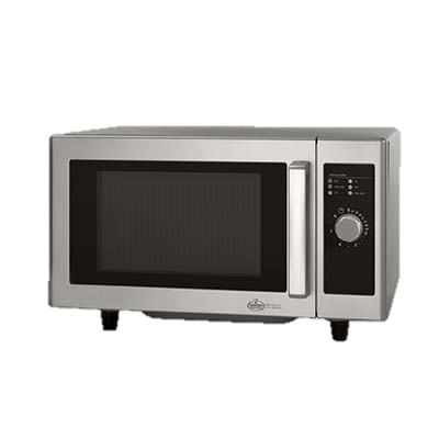 "Amana Stainless Steel Low Volume 20"" Wide Microwave Oven"