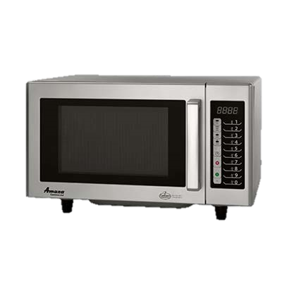 "Amana Stainless Steel ADA Compliant 20"" Wide Microwave Oven"
