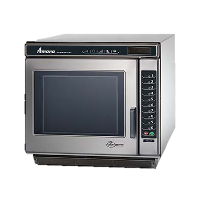 "Amana Stainless Steel LED Display 19.25"" Wide Microwave Oven"