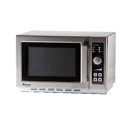 "Amana Stainless Steel Medium Volume 22"" Wide Microwave Oven"