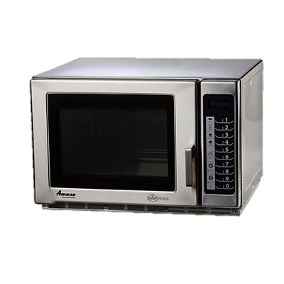 "superior-equipment-supply - Amana Commercial Products - Amana Stainless Steel ADA Compliant 21.75"" Wide Microwave Oven"