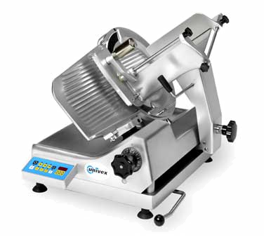 "superior-equipment-supply - Univex - Univex Automatic Electric Premium Series Slicer With 13"" Diameter Blade"