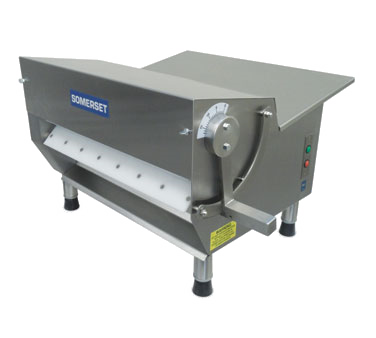 "Somerset Compact Design 20"" Synthetic Rollers Dough Sheeter"